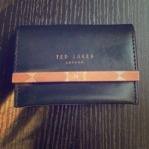 Ted Baker Black/Rose Gold wallet -see matching bag